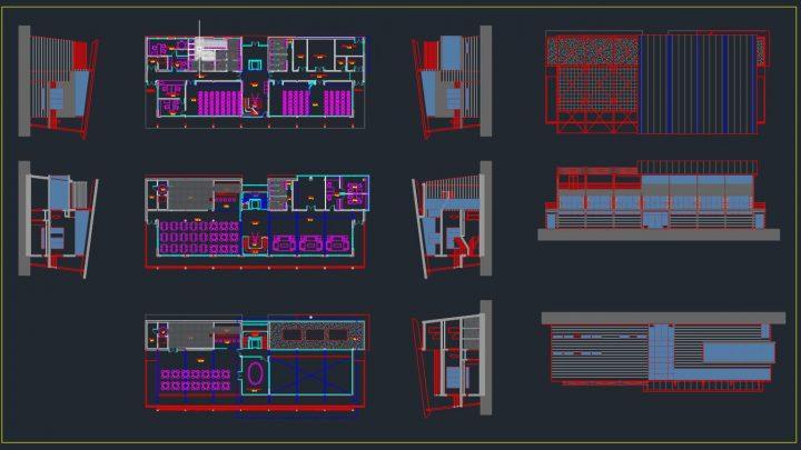 Aerodrome Terminal Layout Plan CAD Template