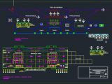 Airport Cargo Terminal General Plan CAD Template DWG