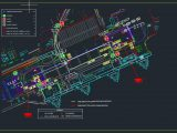 Airport Monitoring Equipement CAD Template DWG