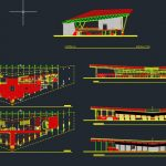 Airport Terminal Design CAD Template DWG