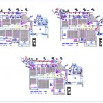 Cinema Ground Floor Layout Plan CAD Template DWG