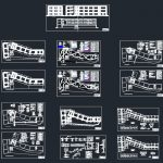 College All Plans and Details CAD Template DWG