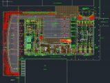 Experimental University Layout Plan CAD Template DWG
