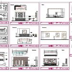 Hotel Furniture Blocks CAD Templates DWG