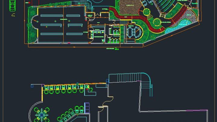 Library Autocad Plan CAD Template
