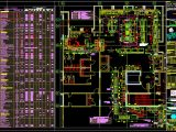 Restaurant Electrical Layout plans CAD Template DWG