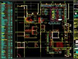 Restaurant Equipment Layout Plan CAD Template DWG