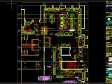 Restaurant Local Distribution Layout CAD Template DWG
