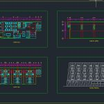 Rustic Hotel General Plan CAD Template DWG