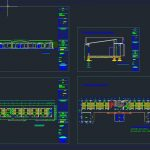 School Layout Plans and Elevation CAD Template DWG