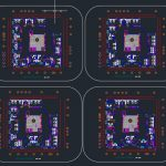Six Levels Hotel Design CAD Template DWG