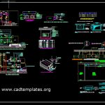 AHU Chilled Water Piping Connection Details CAD Template DWG