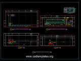 Air Conditioning Ducting and Machine Layout CAD Template DWG