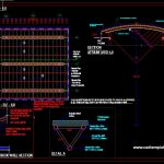 Atrium Roof Grid Structure Details CAD Template DWG