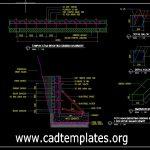 Bekisting Dinding Basement Details CAD Template DWG