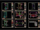 Cacao Production Factory Design Plans CAD template DWG