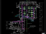 Custom House Network Plan CAD Template DWG