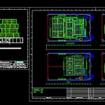 Deck House Construction Plans CAD Template DWG