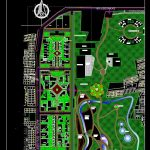 Ecopark Project Design CAD Template DWG