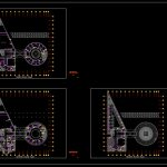 Electrical Power Plan Layout CAD Template DWG