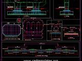 Flyover Pile Reinforcement Details CAD Template DWG
