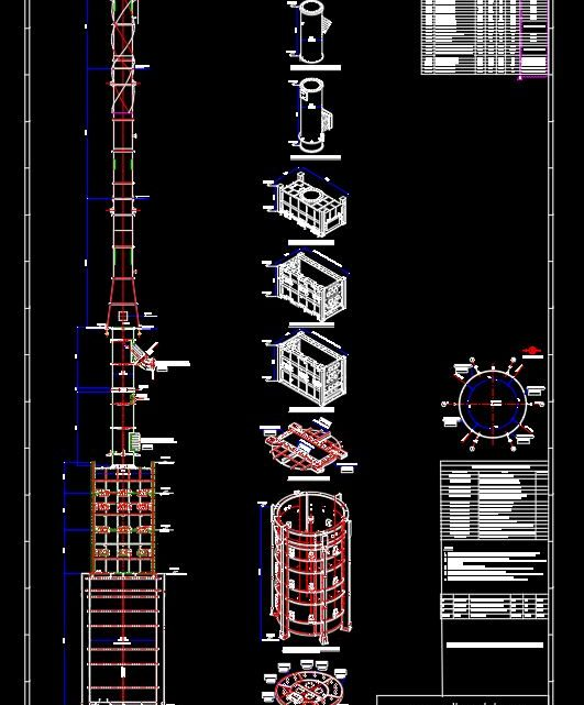 Heater Modularisation Scheme Drawing CAD Template DWG