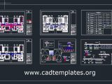 Kinder Garden Electrical Lighting and Power Plan CAD Template DWG