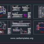 Mosque Electrical Lighting Plans Cad Template DWG
