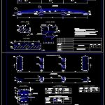 Overpass Bridge Layout Plan and Elevation Details CAD Template DWG