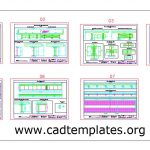 Steel Bridge Beam Sections Details CAD Template DWG