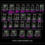 Steel Timber Work Details CAD Template DWG