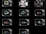 Villa Design Project CAD Template DWG