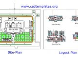 Wiring Hospital Layout Plan Autocad Template DWG