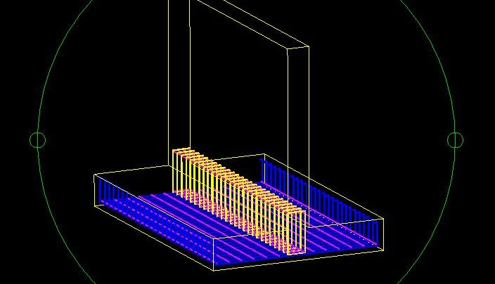 Beam Reinforcement 3D Model CAD Template DWG