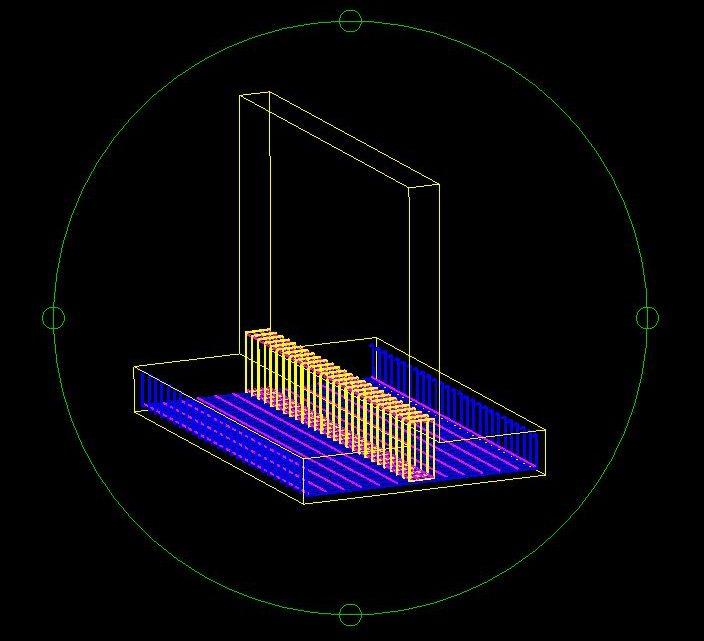 Beam Reinforcement 3D Model CAD Template DWG