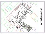 Municipality Site Plan Autocad Template DWG