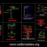 Plumping General Details CAD Template DWG
