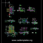 Ramp and Appron Reinforcement Details CAD Template DWG