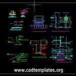 Typical Laboratory Service Valves Details CAD Template DWG