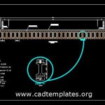 Bridge Girder Section Detail CAD Template DWG