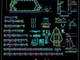 Chapel Project Structure Details CAD Template DWG