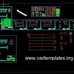 Bridge Girder Details CAD Template DWG