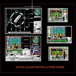 Industrial Plant Sol Pack Sac CAD Template DWG