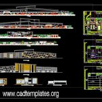 Mango Export Processing Plant Plan and Elevation  CAD Template DWG
