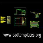 Metal Construction Details CAD Template DWG