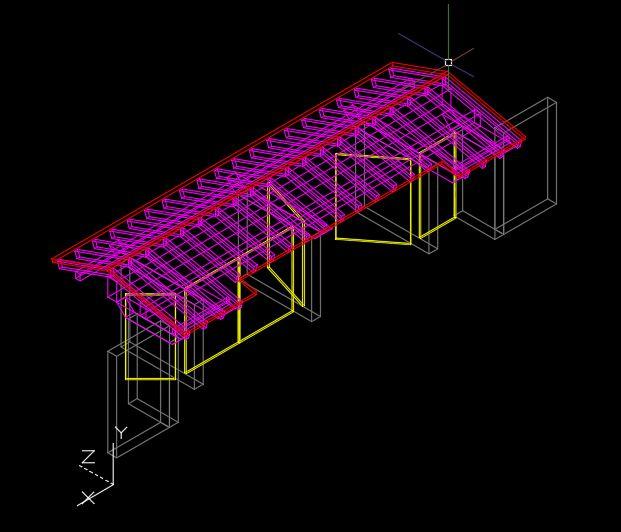 Principal Access 3D Model CAD Template DWG