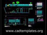 Sliding Door Cars Access Details CAD Template DWG