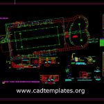 Swimming Pool Electrical Details CAD Template DWG