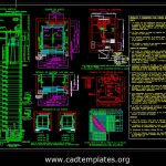 Airport Control Tower Elevator Details CAD Template DWG