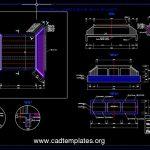 Box Culvert Concrete Reinforcement Details CAD Template DWG